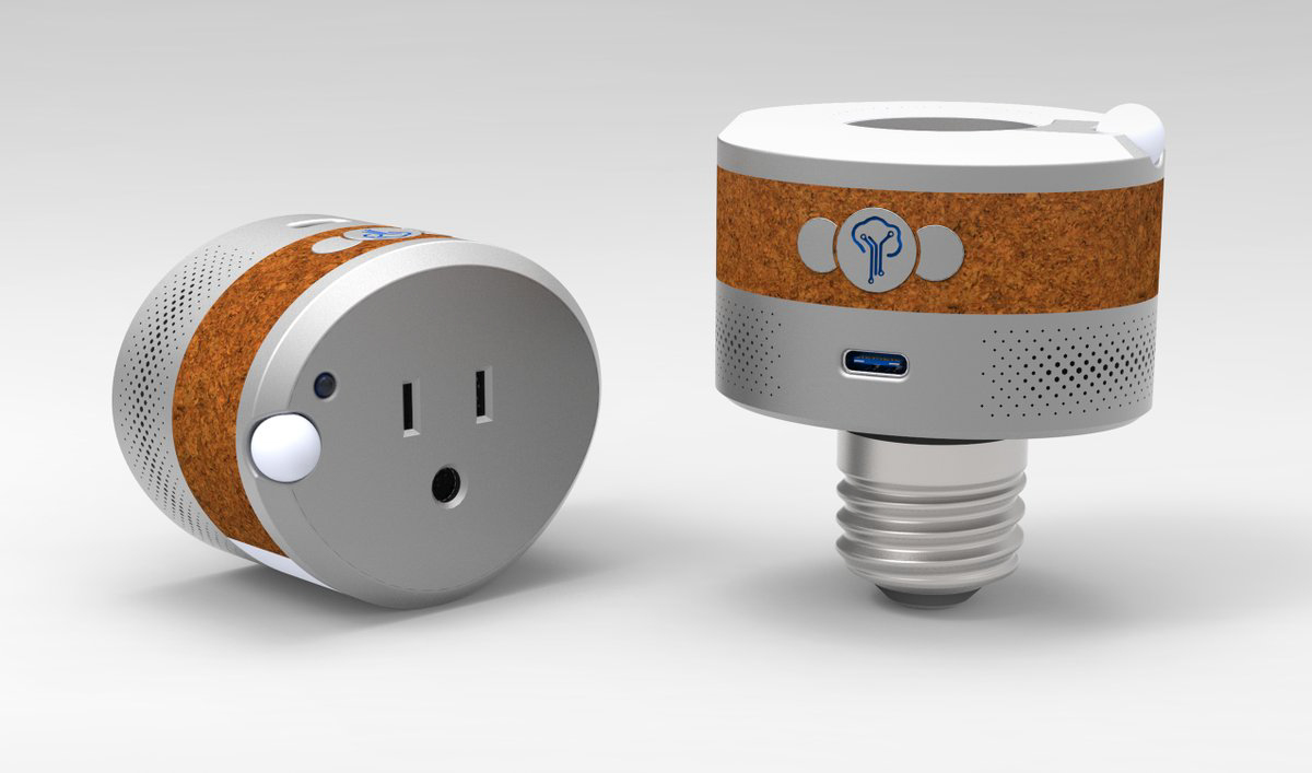 YzPlug and YzLight from YzOak are multi-faceted devices. Image: YzOak.