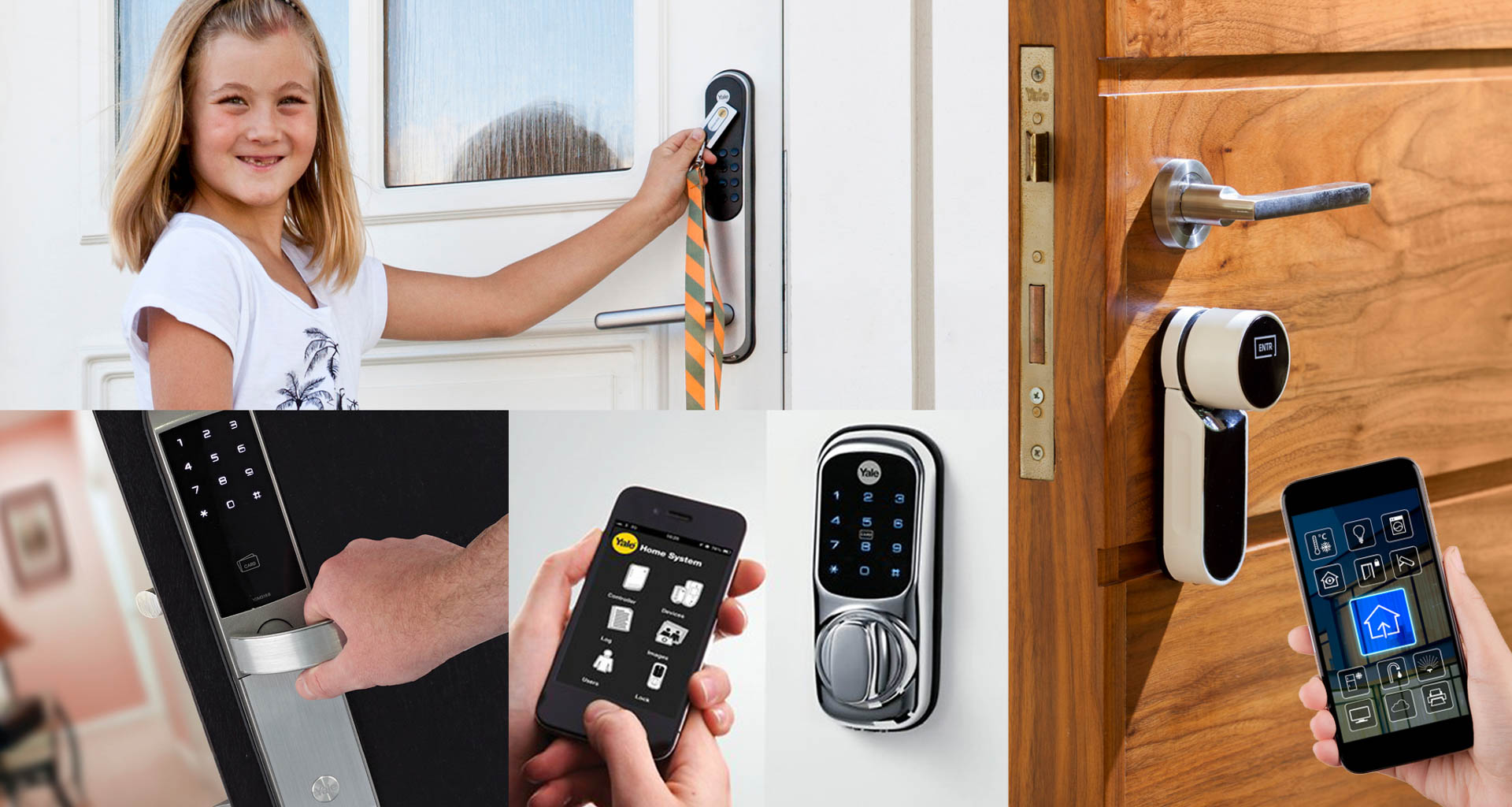 An ASSA ABLOY Smart Door Lock for Every Door, Everywhere