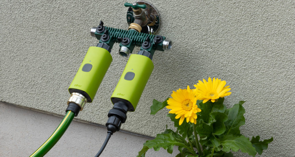 Smart watering tech, such as the Zilker Smart Water Timer, can bring the latest IoT to your garden. Image: Digitized House.