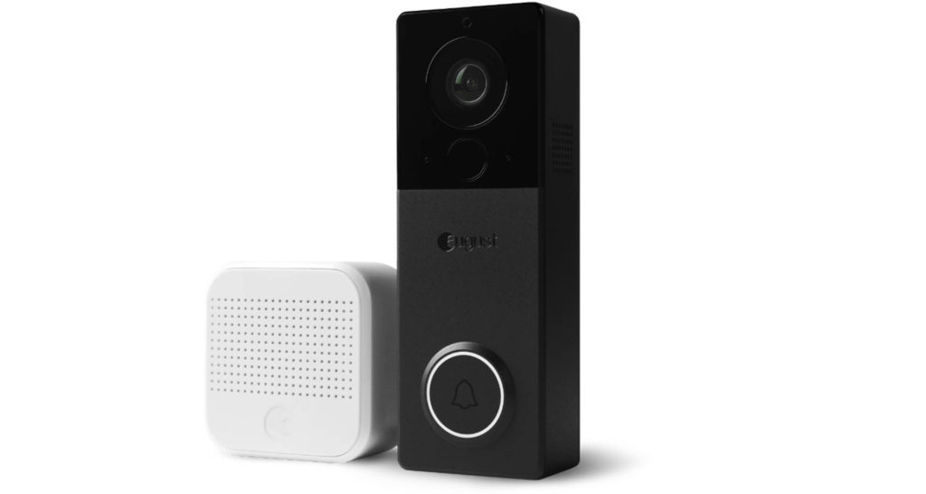 August View wire-free doorbell camera. Image: August Home.