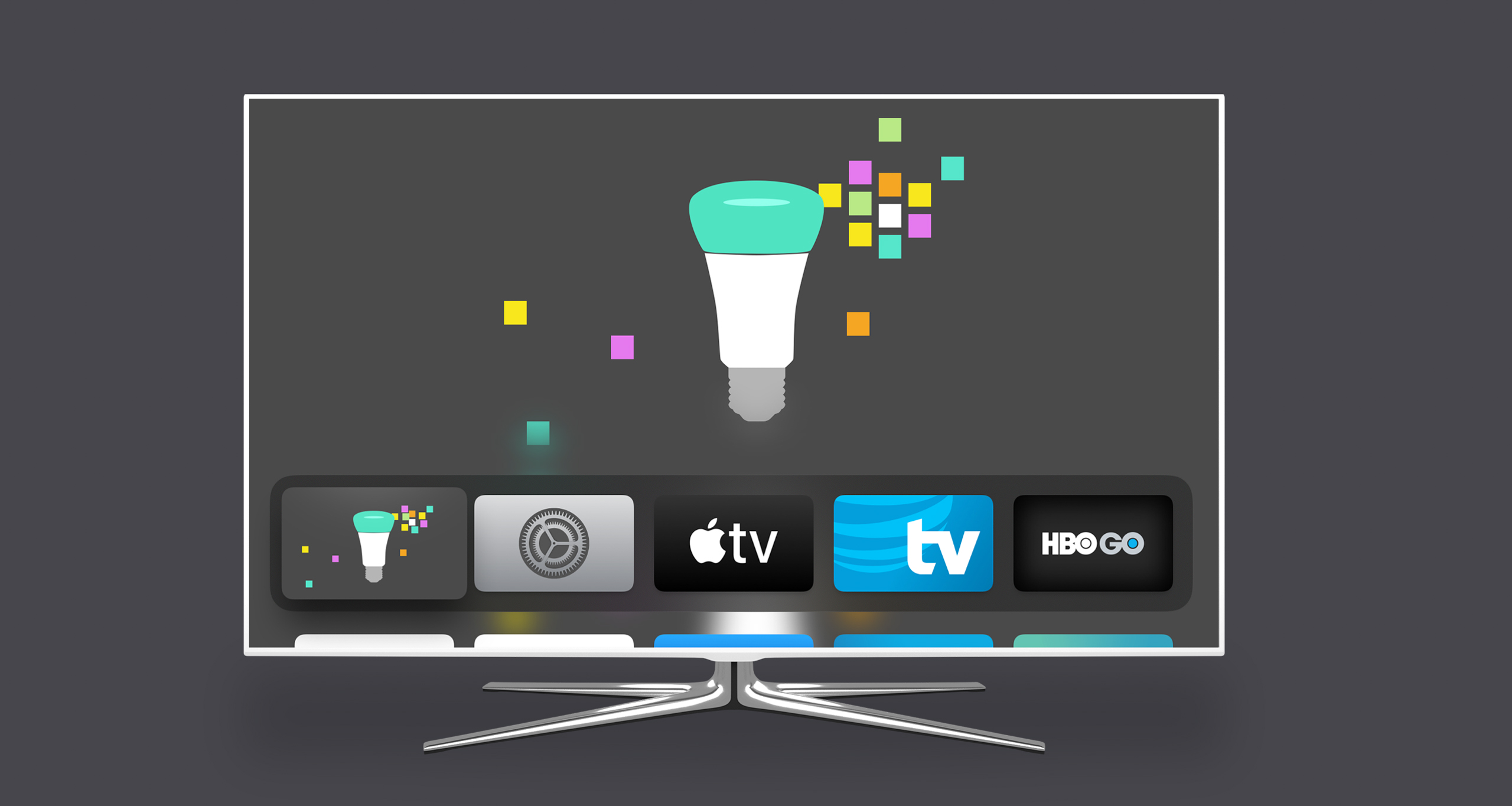 Review: Controlling Philips Hue Lighting on Apple TV With Hue TV App