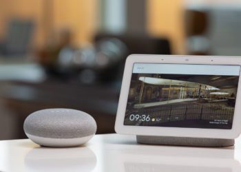 Google is offering a free Google Nest Hub to some subscribers to the Nest Aware Plus subscription plans. Image: Digitized House.